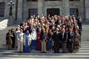 Photograph: First Interfaith Forum, September 2003, Wellington